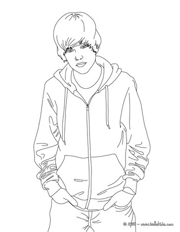 Justin bieber coloring pages printable free coloring - Coloriage de justin bieber ...