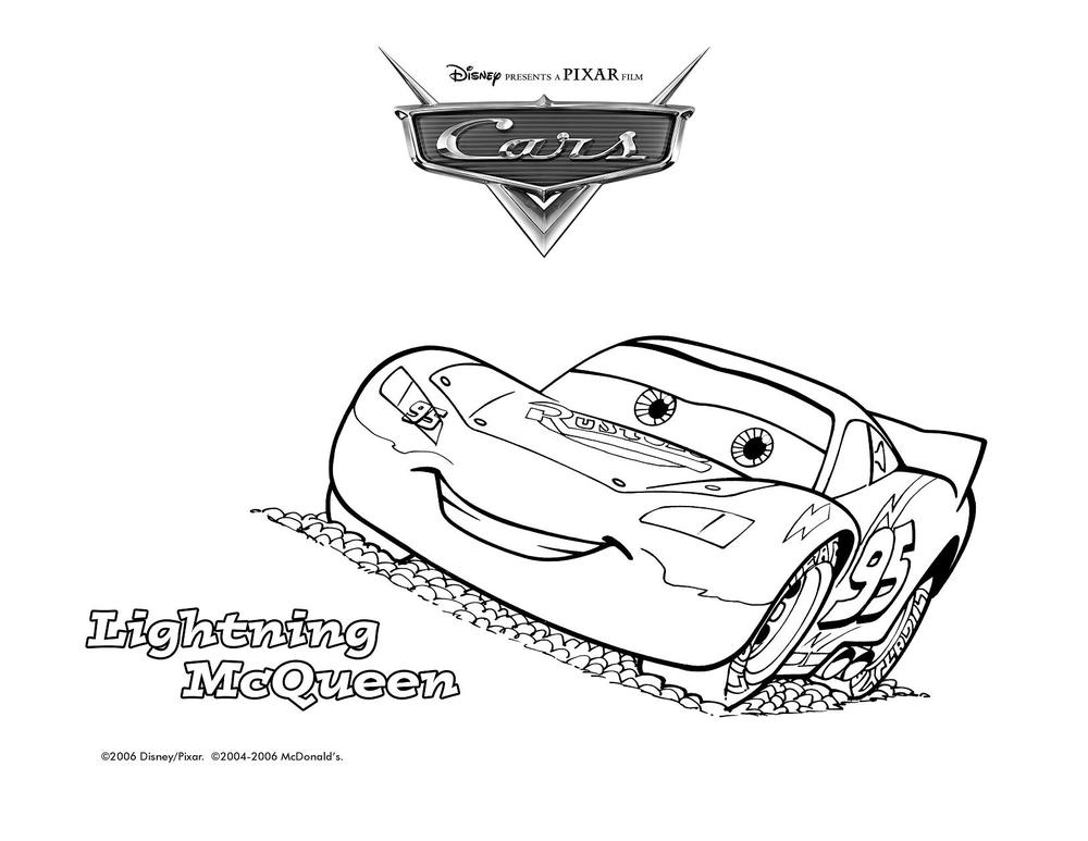 Free Lighting Mcqueen Coloring Pages | Free Coloring Pages For Kids