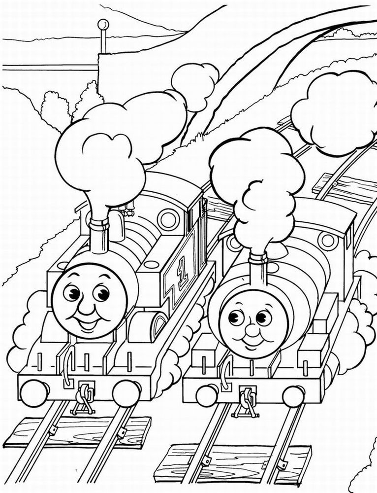Printable Thomas The Train Coloring Pages Free Coloring Pages For Kids