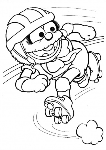 Elmo sesame street coloring pages free coloring pages for Wizards of waverly place coloring pages