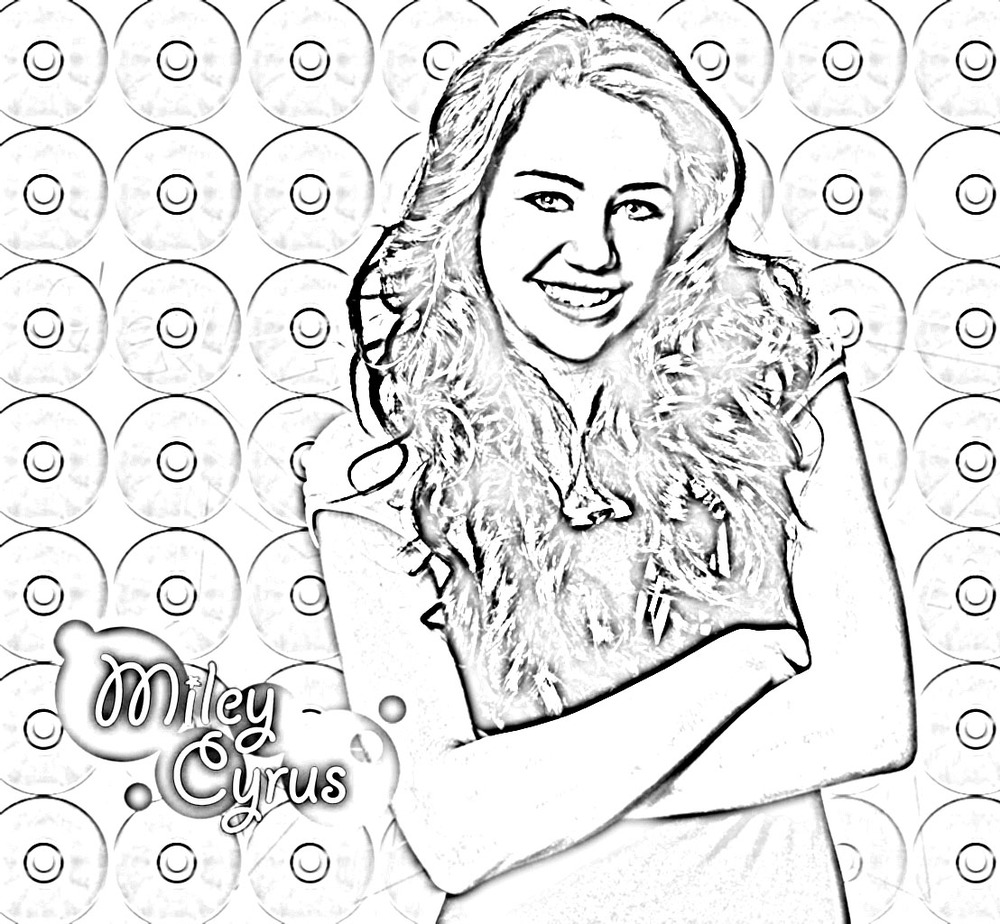 free hannah montana coloring pages free coloring pages for kids