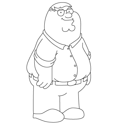 Family Guy Coloring Pages Printable | Free Coloring Pages For Kids